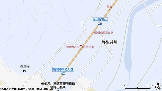 大分県佐伯市弥生大字井崎1391周辺の地図