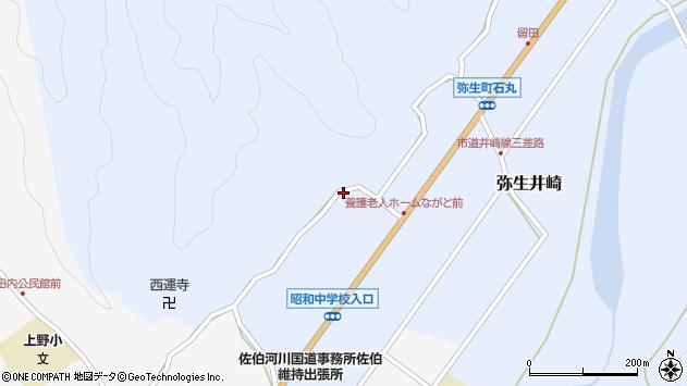 大分県佐伯市弥生大字井崎2315周辺の地図