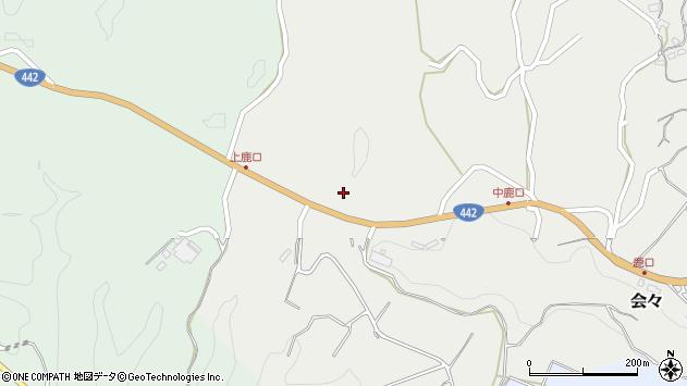 大分県竹田市会々5260周辺の地図