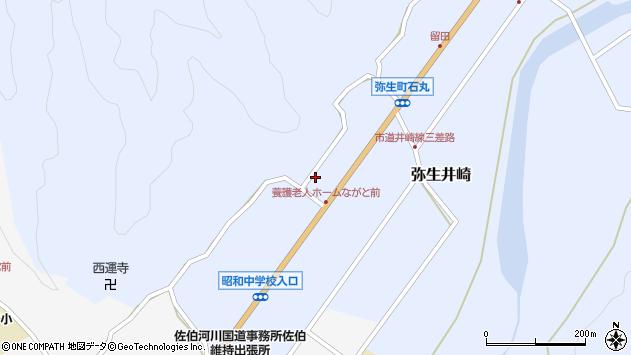大分県佐伯市弥生大字井崎1390周辺の地図