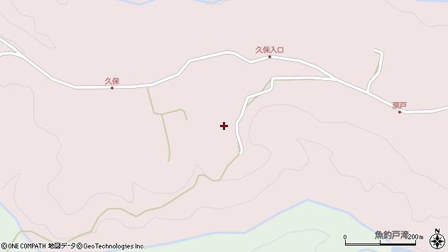 大分県竹田市久保730周辺の地図