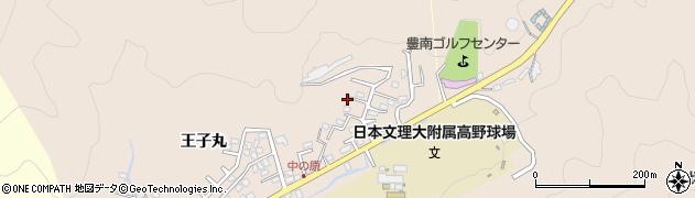 大分県佐伯市鶴望3515周辺の地図