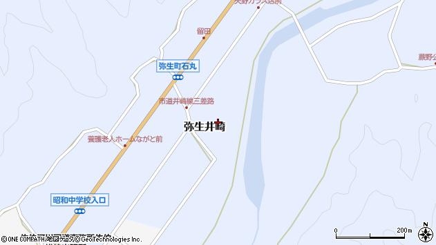 大分県佐伯市弥生大字井崎1082周辺の地図