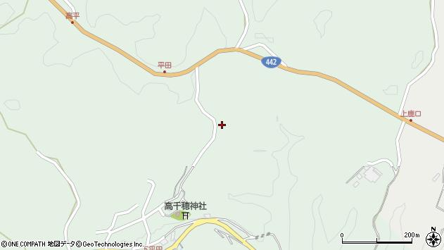 大分県竹田市平田597周辺の地図