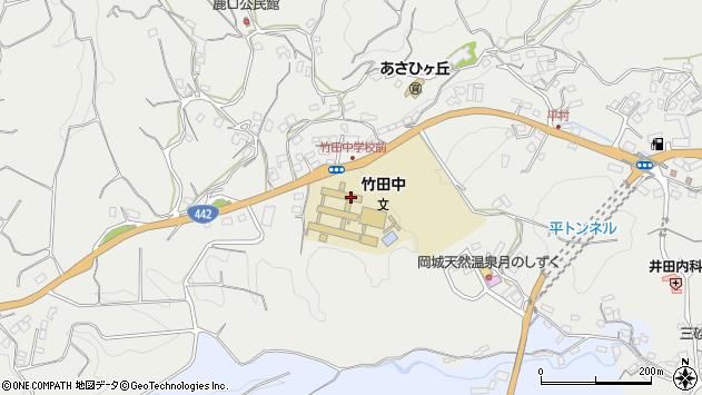 大分県竹田市会々3423周辺の地図