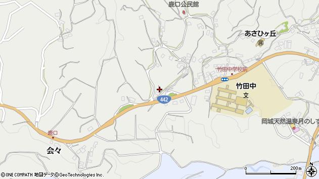 大分県竹田市会々3746周辺の地図