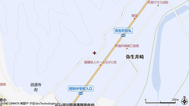 大分県佐伯市弥生大字井崎2290周辺の地図