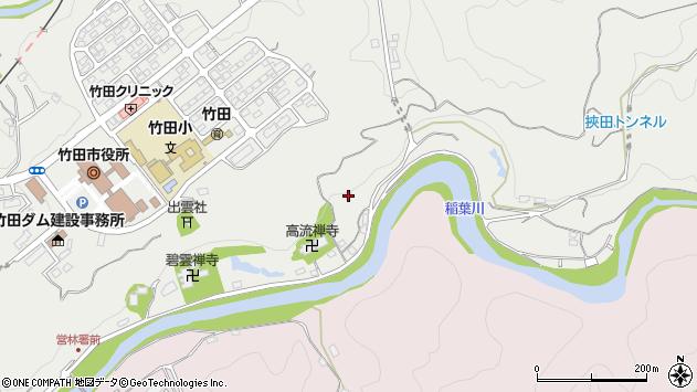 大分県竹田市会々1948周辺の地図