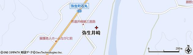 大分県佐伯市弥生大字井崎1083周辺の地図