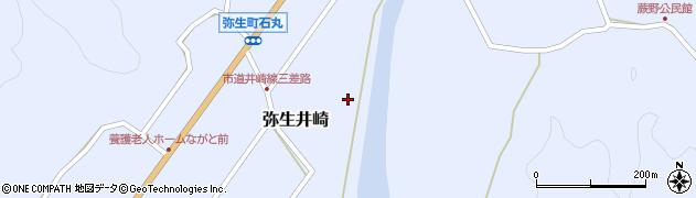 大分県佐伯市弥生大字井崎1064周辺の地図