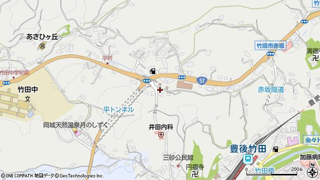 大分県竹田市会々2629周辺の地図