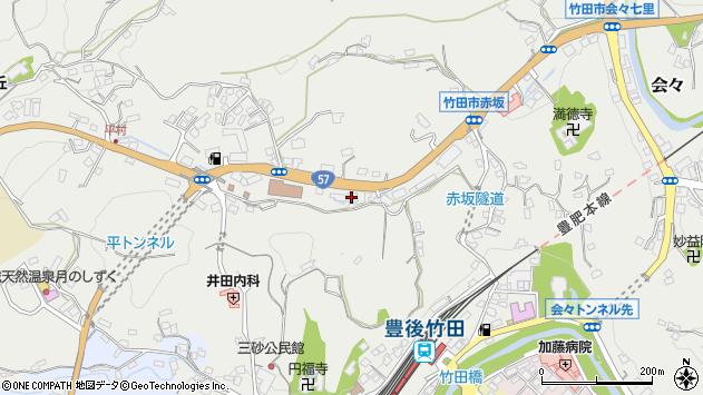 大分県竹田市会々2747周辺の地図