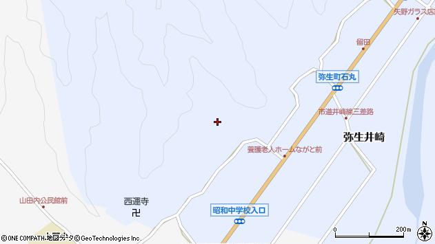 大分県佐伯市弥生大字井崎2364周辺の地図