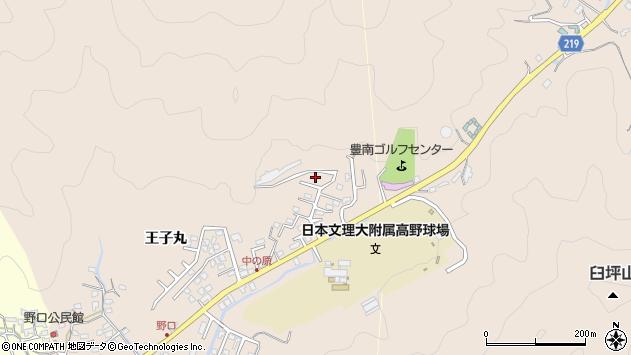 大分県佐伯市鶴望3516周辺の地図