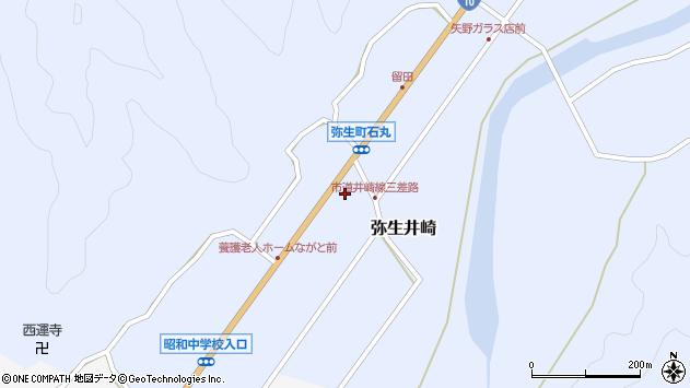 大分県佐伯市弥生大字井崎1122周辺の地図