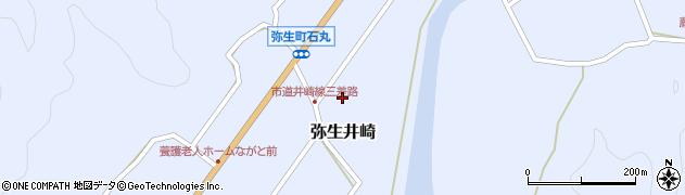 大分県佐伯市弥生大字井崎1094周辺の地図