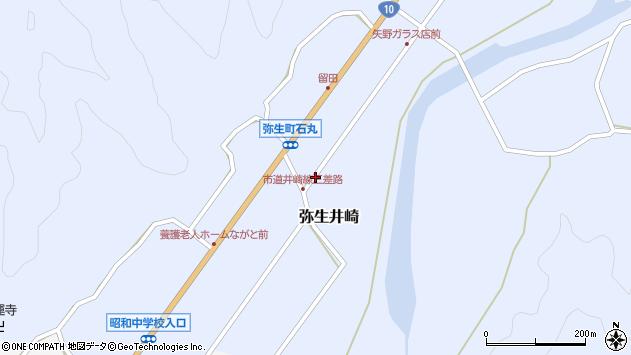 大分県佐伯市弥生大字井崎1099周辺の地図