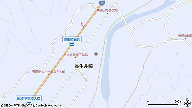 大分県佐伯市弥生大字井崎1057周辺の地図