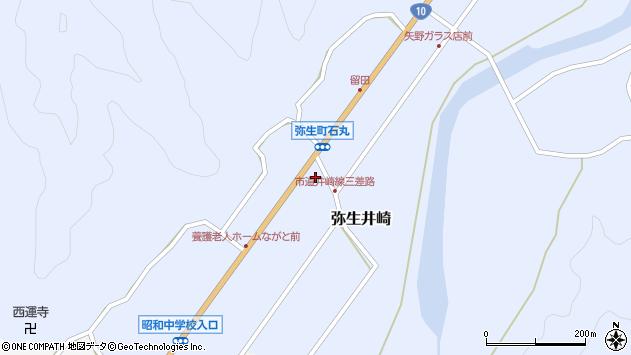 大分県佐伯市弥生大字井崎1119周辺の地図