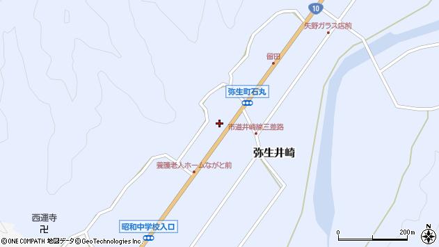 大分県佐伯市弥生大字井崎1452周辺の地図