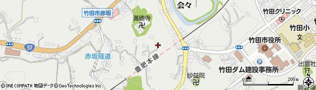 大分県竹田市会々1431周辺の地図
