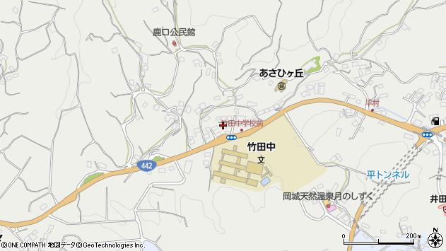 大分県竹田市会々3460周辺の地図