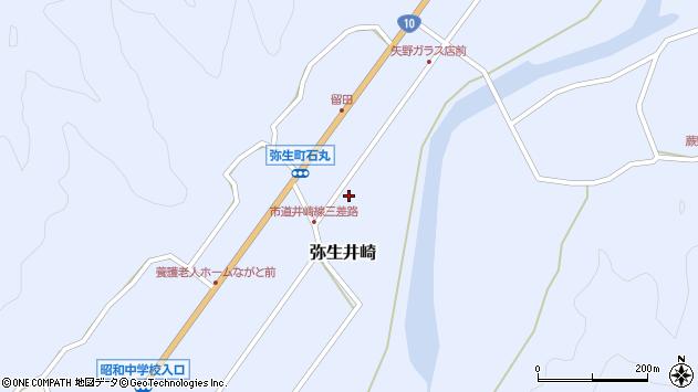 大分県佐伯市弥生大字井崎1047周辺の地図