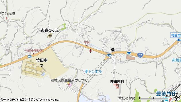 大分県竹田市会々3319周辺の地図