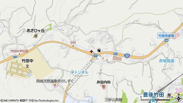 大分県竹田市会々2737周辺の地図