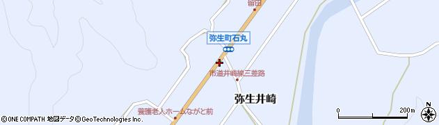 大分県佐伯市弥生大字井崎1121周辺の地図