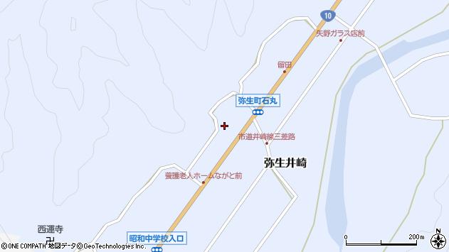 大分県佐伯市弥生大字井崎1437周辺の地図