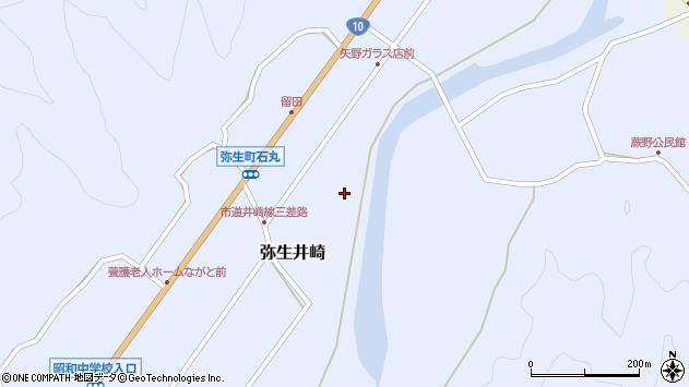 大分県佐伯市弥生大字井崎1029周辺の地図