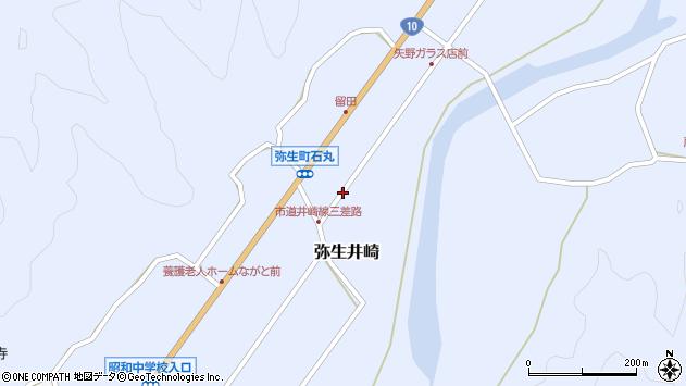 大分県佐伯市弥生大字井崎1042周辺の地図