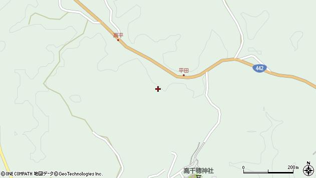 大分県竹田市平田1809周辺の地図