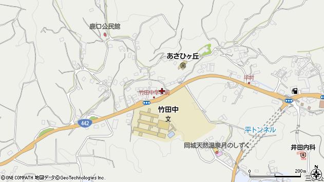 大分県竹田市会々3476周辺の地図