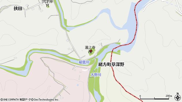 大分県竹田市挟田168周辺の地図
