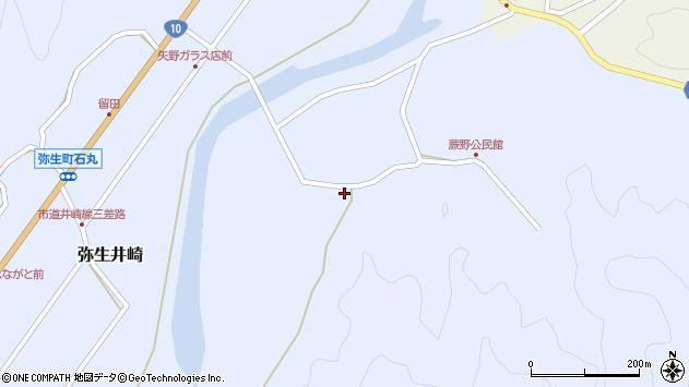 大分県佐伯市弥生大字井崎555周辺の地図