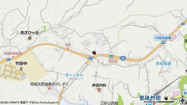 大分県竹田市会々2738周辺の地図