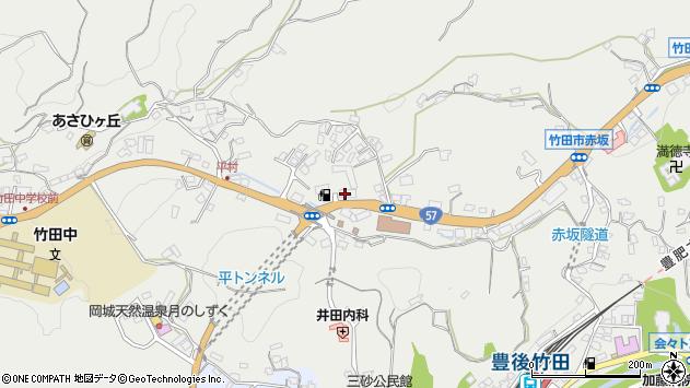大分県竹田市会々2808周辺の地図
