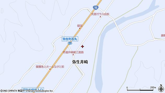 大分県佐伯市弥生大字井崎1043周辺の地図