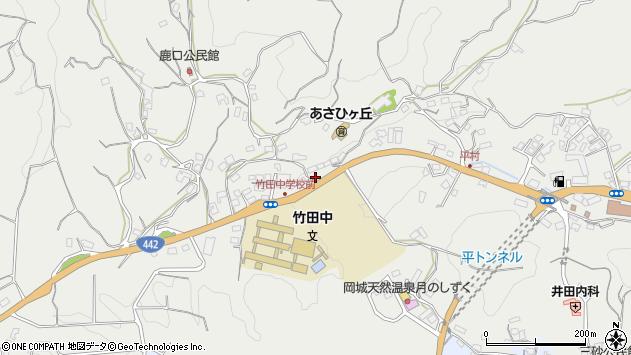 大分県竹田市会々3488周辺の地図