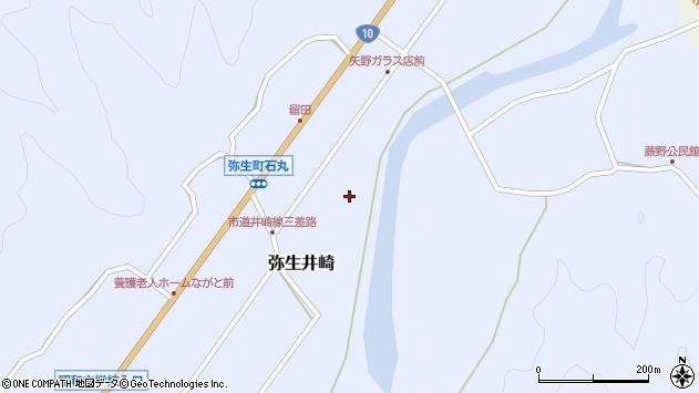 大分県佐伯市弥生大字井崎1030周辺の地図