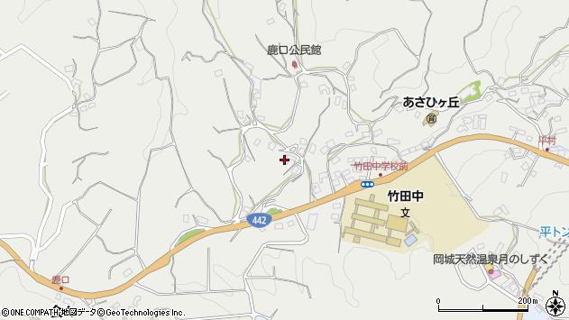 大分県竹田市会々3833周辺の地図