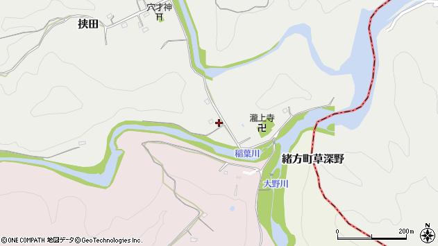 大分県竹田市挟田120周辺の地図
