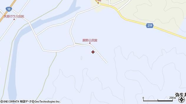 大分県佐伯市弥生大字井崎441周辺の地図