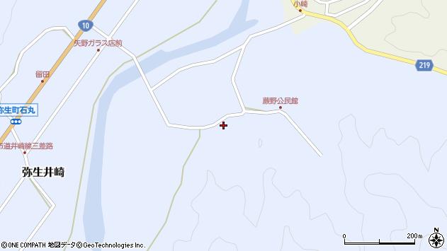 大分県佐伯市弥生大字井崎575周辺の地図