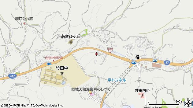 大分県竹田市会々3370周辺の地図