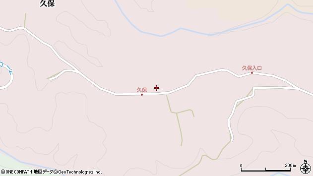 大分県竹田市久保701周辺の地図