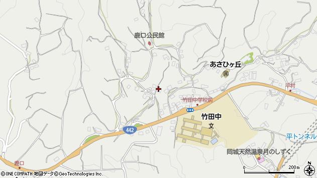 大分県竹田市会々3526周辺の地図
