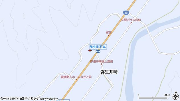 大分県佐伯市弥生大字井崎1451周辺の地図